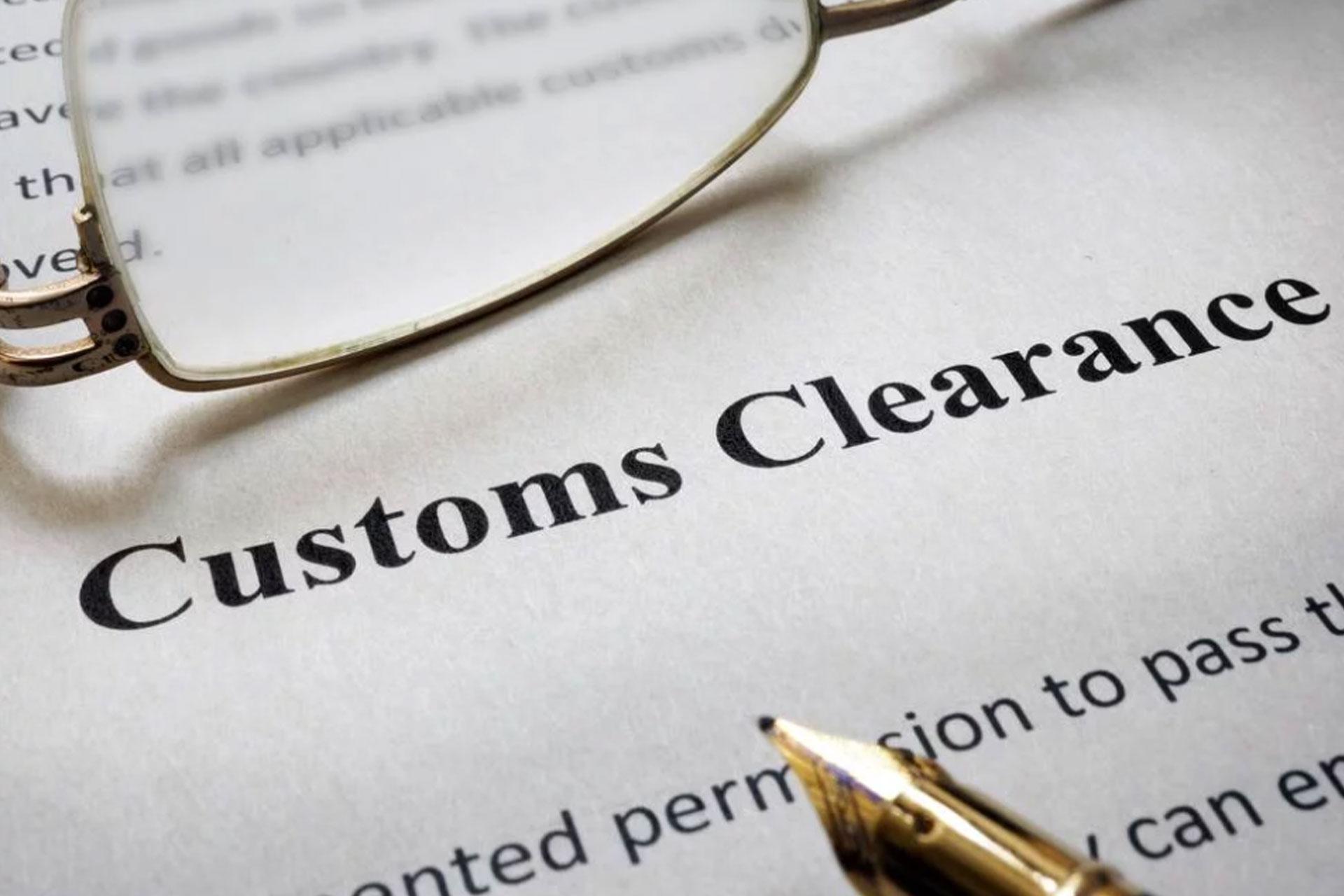 Custom-Clearance